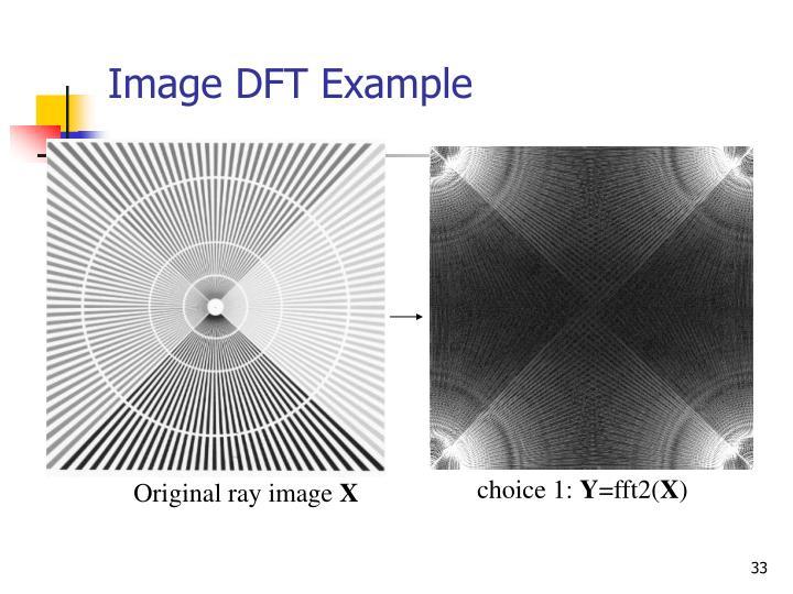Image DFT Example