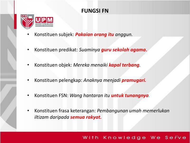 FUNGSI FN