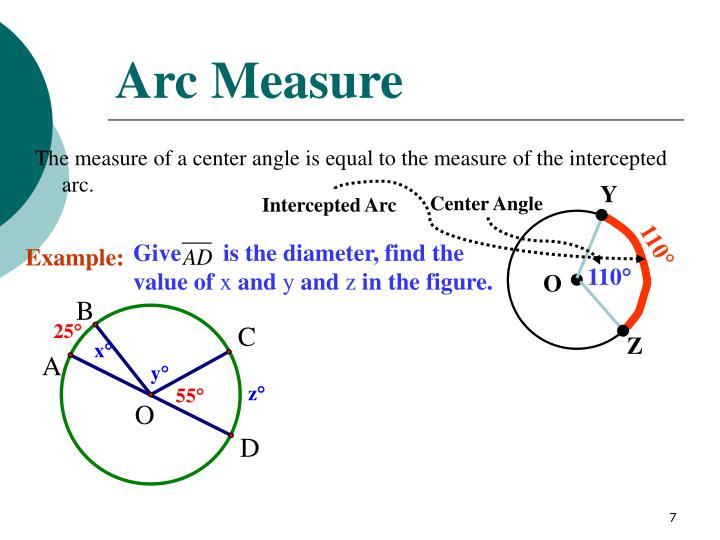 what is the measure of angle y