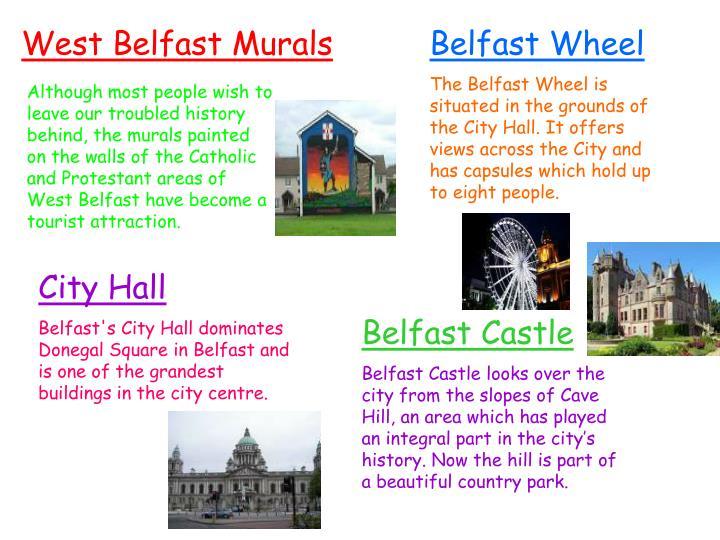 West Belfast Murals