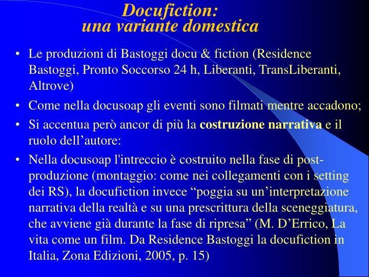 Docufiction: