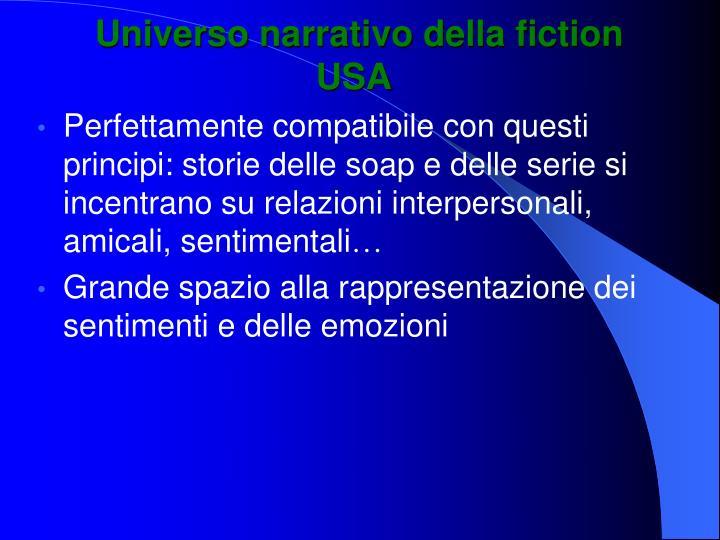 Universo narrativo della fiction USA
