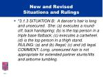 new and revised situations and rulings20