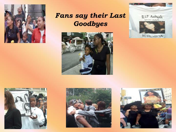 Fans say their Last Goodbyes