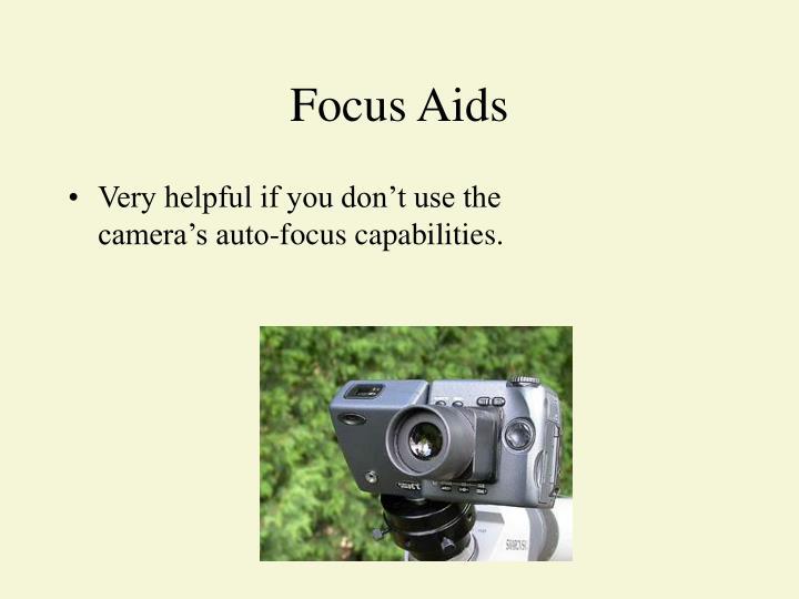 Focus Aids
