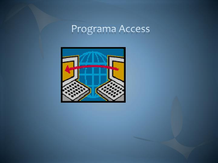 Programa Access