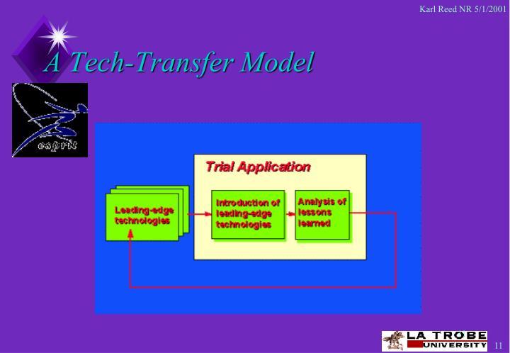 A Tech-Transfer Model
