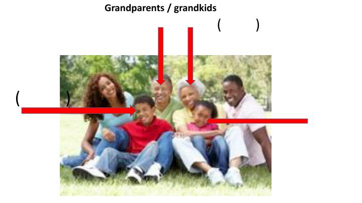 Grandparents / grandkids