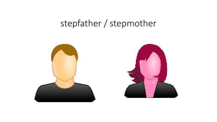 stepfather / stepmother