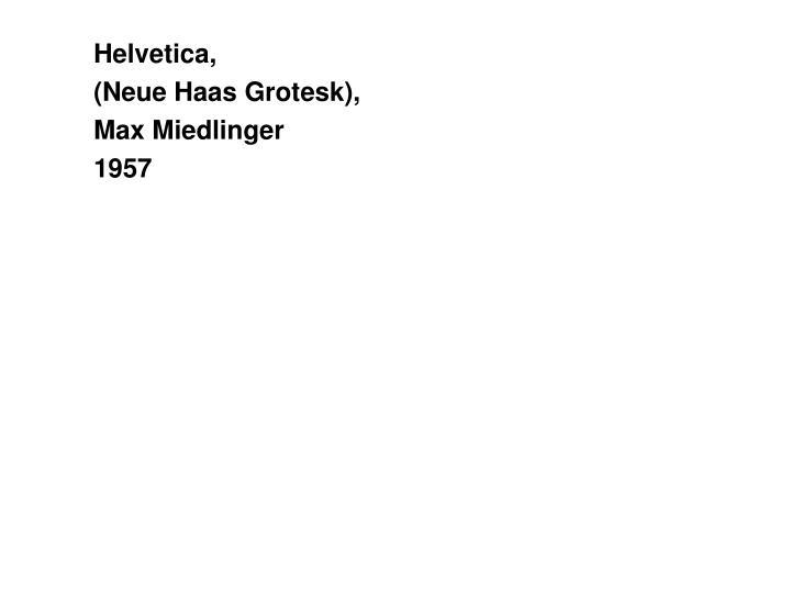 Helvetica,