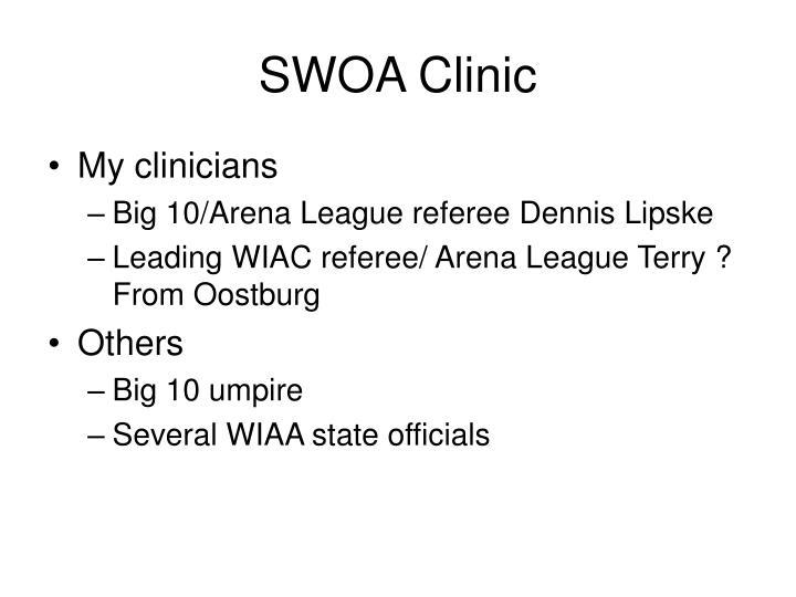 SWOA Clinic