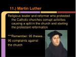 11 martin luther