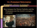 14 protestant reformation