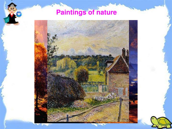 Paintings of nature