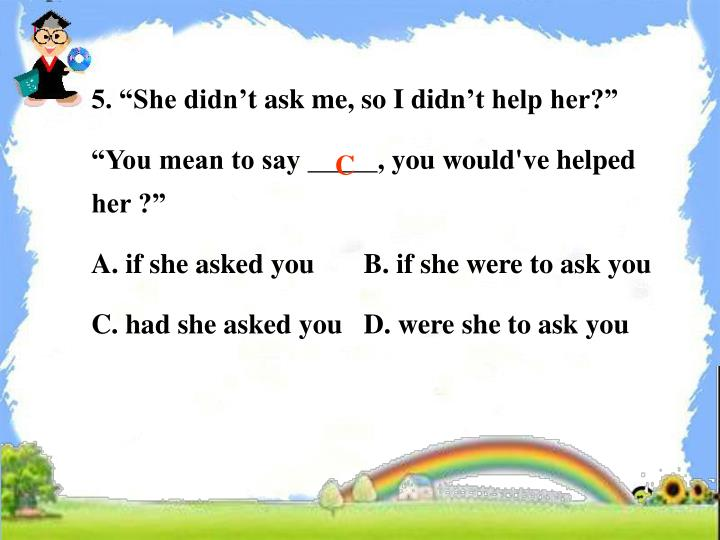 """5. """"She didn"""