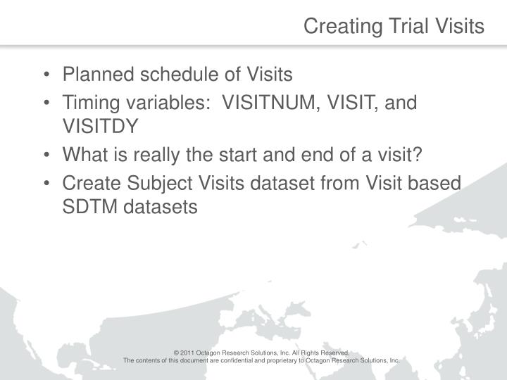 Creating Trial Visits