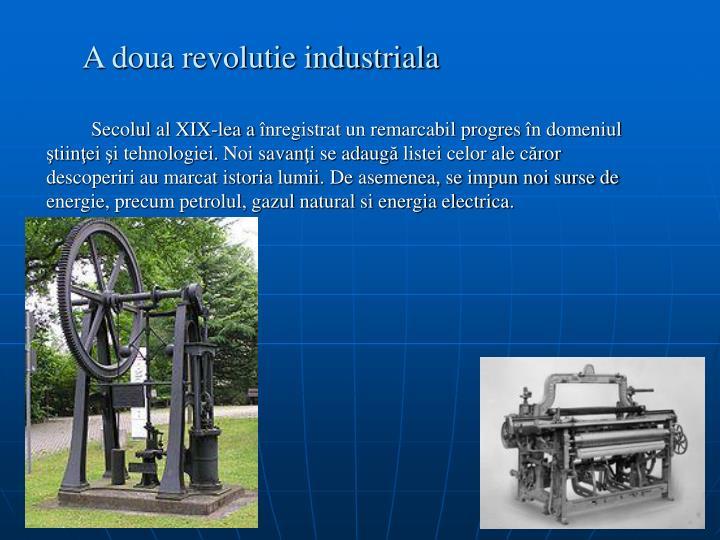 A doua revolutie industriala