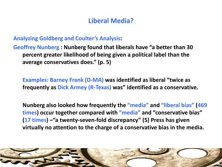 Liberal Media?
