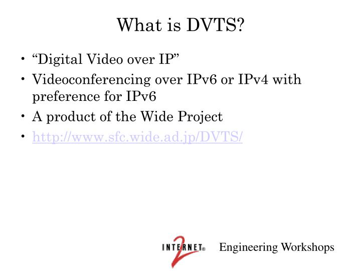 What is dvts
