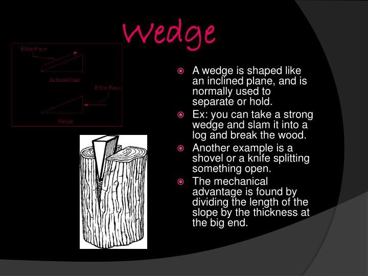 Wedge