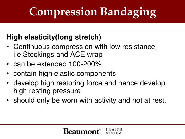 Compression Bandaging