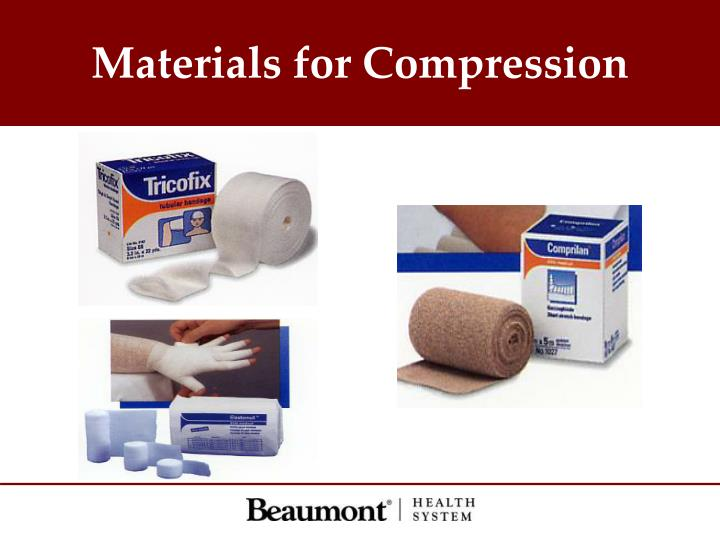 Materials for Compression