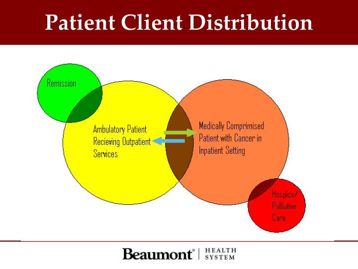 Patient Client Distribution