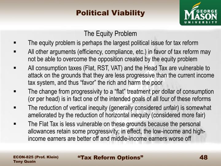 Political Viability