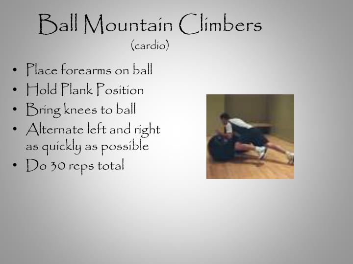 Ball Mountain Climbers