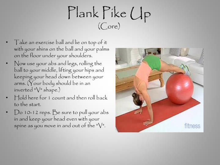Plank Pike Up