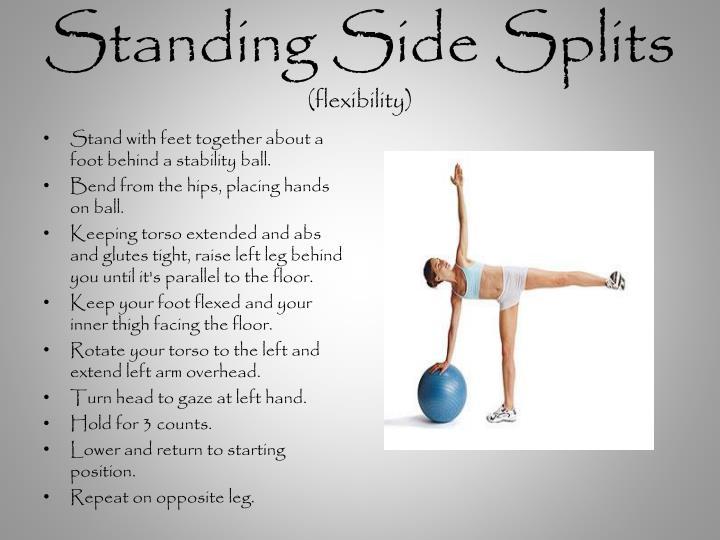 Standing Side Splits