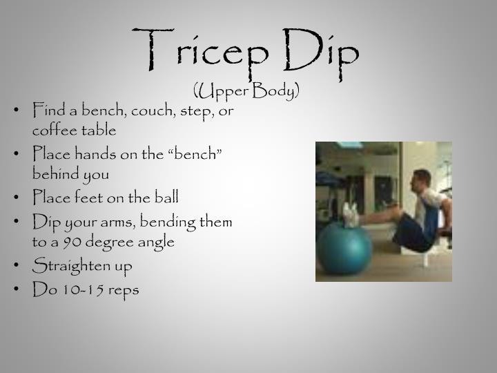 Tricep Dip