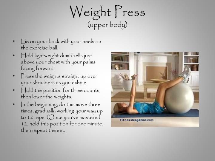 Weight Press