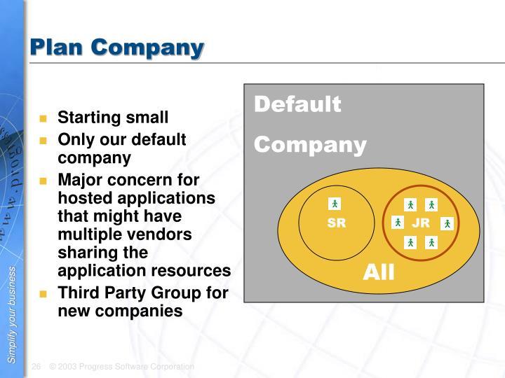 Plan Company