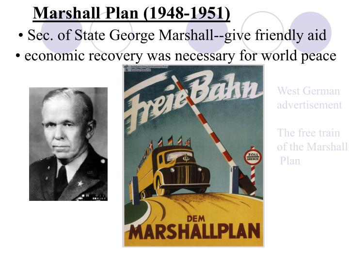 Marshall Plan (1948-1951)