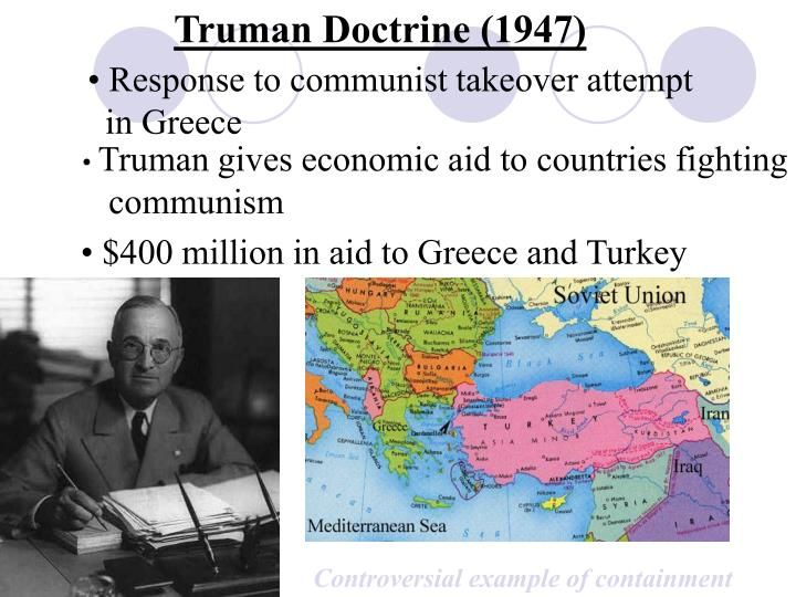 Truman Doctrine (1947)