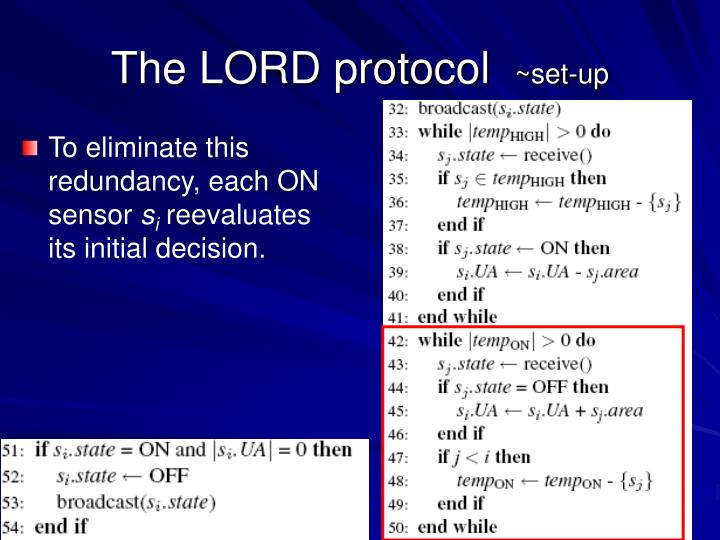 The LORD protocol