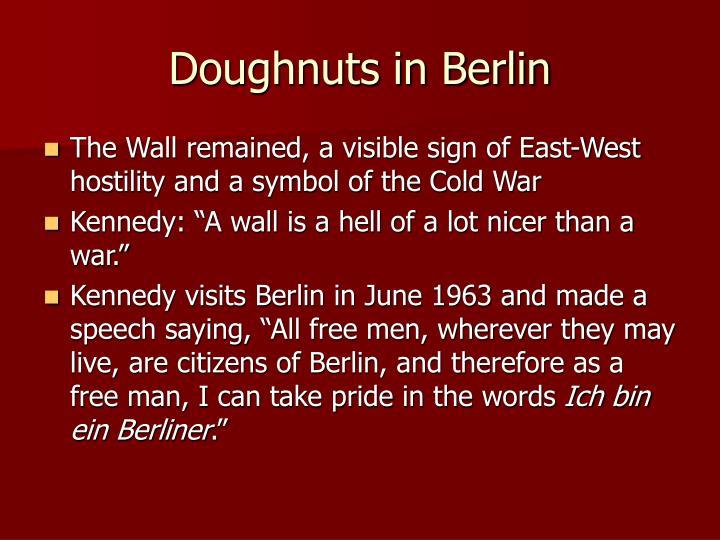 Doughnuts in Berlin
