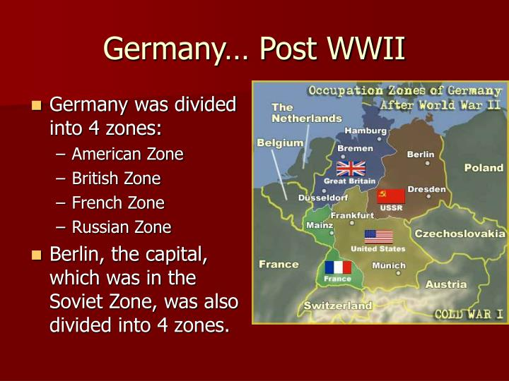 Germany… Post WWII