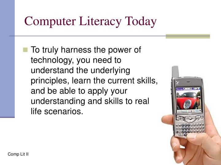 Computer Literacy Today