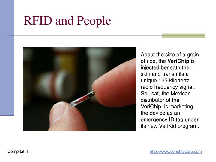 RFID and People