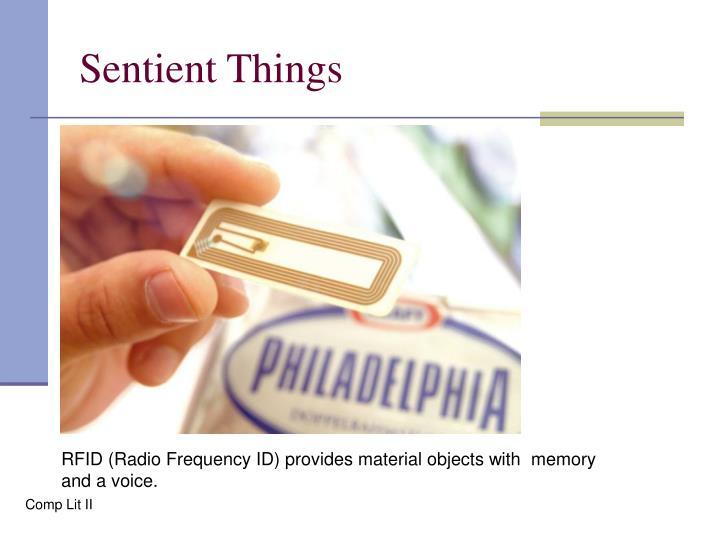 Sentient Things