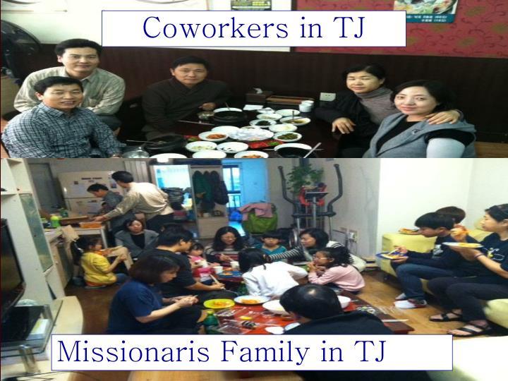 Coworkers in TJ