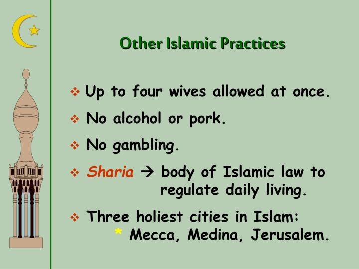 Other Islamic Practices