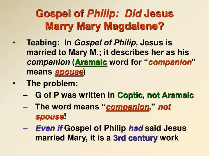 Gospel of