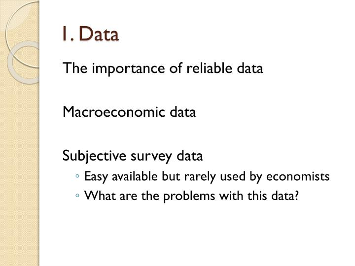 1. Data