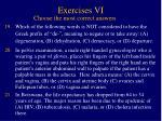 exercises vi