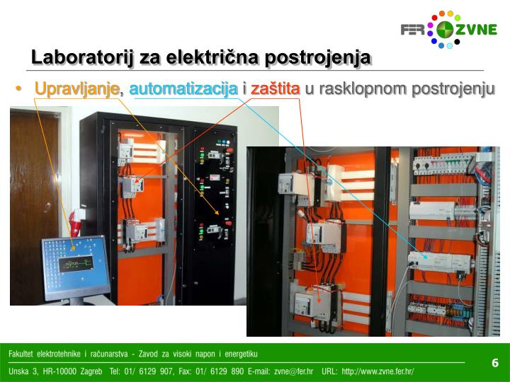 Laboratorij za električna postrojenja