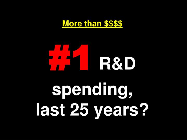 More than $$$$