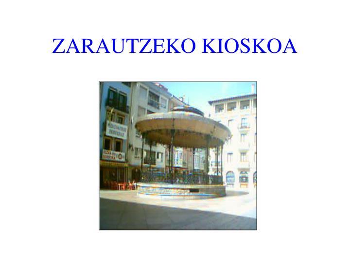 ZARAUTZEKO KIOSKOA